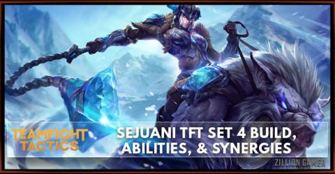 Sejuani TFT Set 4 Build, Abilities, & Synergies