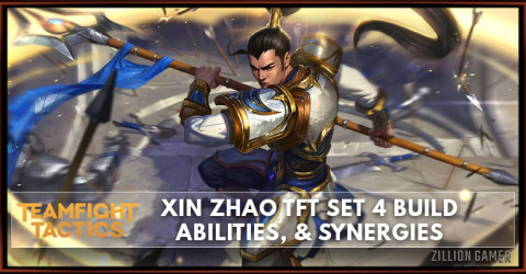 Xin Zhao TFT Set 4 Build, Abilities, & Synergies
