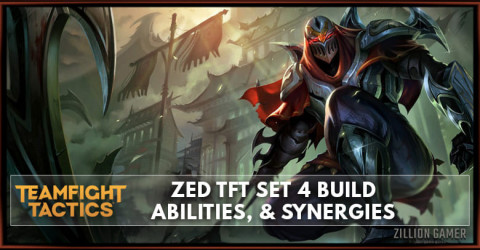 Zed TFT Set 4 Build, Abilities, & Synergies