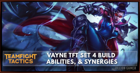 Vayne TFT Set 4 Build, Abilities, & Synergies