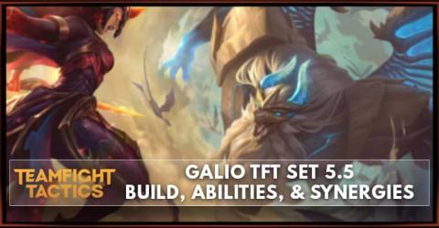 Galio TFT Set 5.5 Build, Abilities, & Synergies