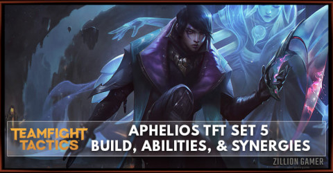 Aphelios TFT Set 5 Build, Abilities, & Synergies