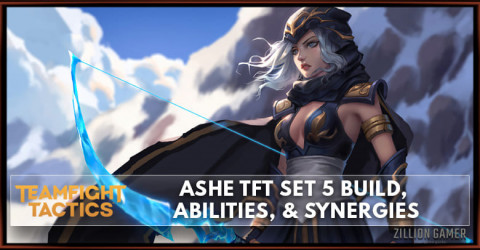 Ashe TFT Set 5 Build, Abilities, & Synergies