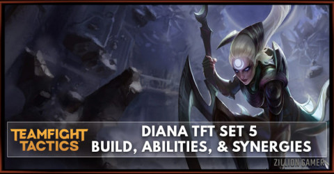 Diana TFT Set 5 Build, Abilities, & Synergies
