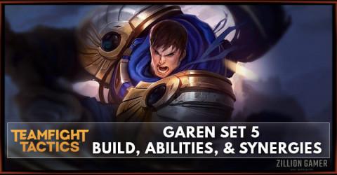Garen TFT Set 5 Build, Abilities, & Synergies