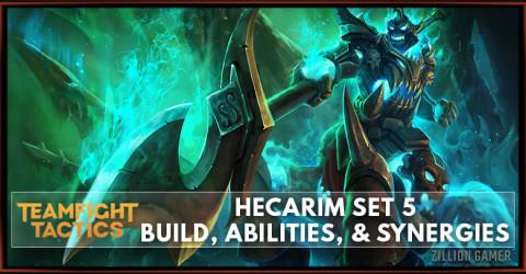 Hecarim TFT Set 5 Build, Abilities, & Synergies