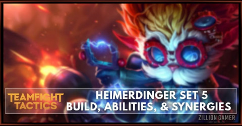 Heimerdinger TFT Set 5 Build, Abilities, & Synergies