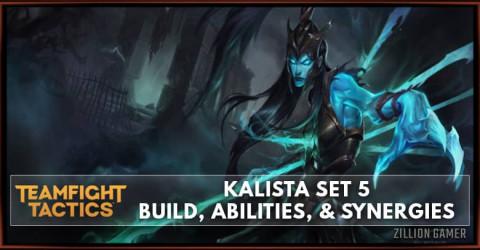 Kalista TFT Set 5 Build, Abilities, & Synergies