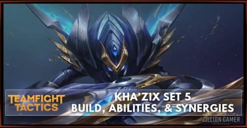 Kha'Zix TFT Set 5 Build, Abilities, & Synergies