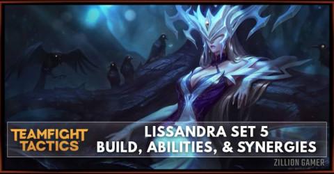 Lissandra TFT Set 5 Build, Abilities, & Synergies