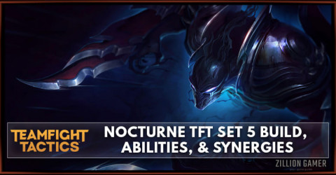 Nocturne TFT Set 5 Build, Abilities, & Synergies