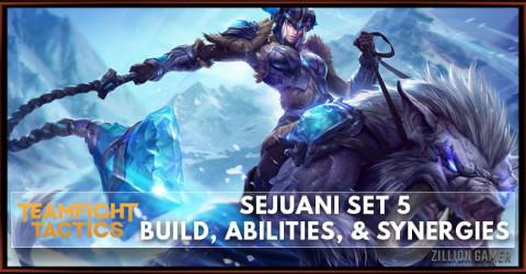 Sejuani TFT Set 5 Build, Abilities, & Synergies
