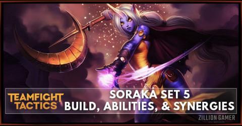 Soraka TFT Set 5 Build, Abilities, & Synergies