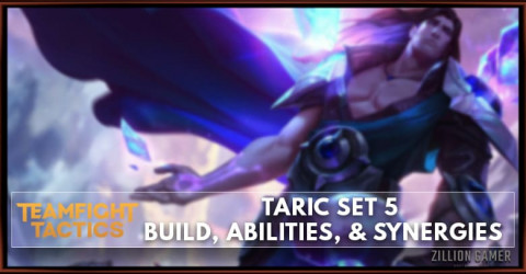 Taric TFT Set 5 Build, Abilities, & Synergies