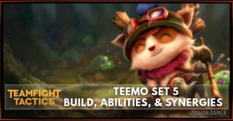 Teemo TFT Set 5 Build, Abilities, & Synergies