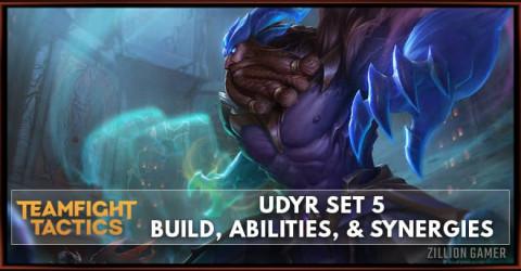Udyr TFT Set 5 Build, Abilities, & Synergies