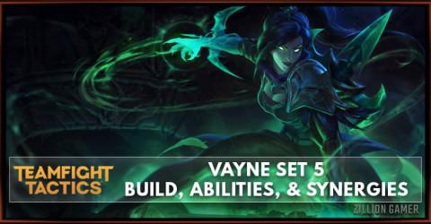 Vayne TFT Set 5 Build, Abilities, & Synergies