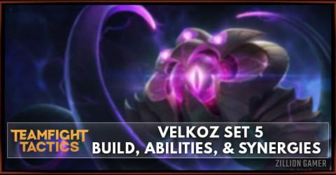 Velkoz TFT Set 5 Build, Abilities, & Synergies