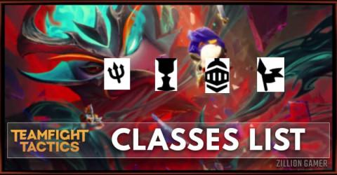 TFT Set 5 Classes List