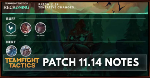 TFT Patch 11.14 Notes Champions, Traits, & Items Balance