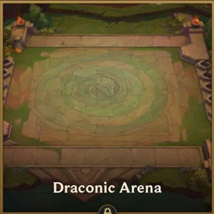 TFT Mobile Arena Skin Draconic Arena - zilliongamer