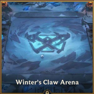 TFT Mobile Arena Skin Winter's Claw Arena - zilliongamer