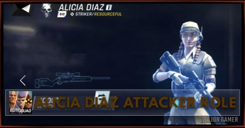Tom Clancy's: Elite Squad | Alicia Diaz