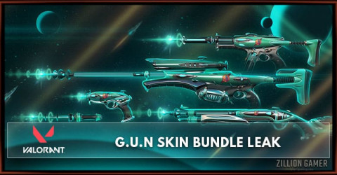 Valorant G.U.N Skin Bundle Leak