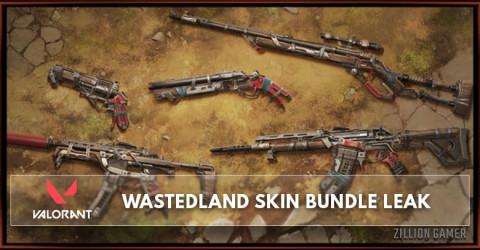 Valorant Wastedland Skin Bundle Leak