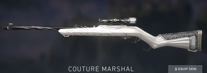 Valorant Marshal Skin: Couture - zilliongamer