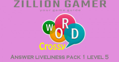 Pack 1 level 5 liveliness