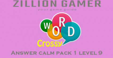 Word crossy level 9