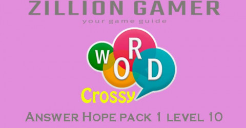 Word crossy level 814