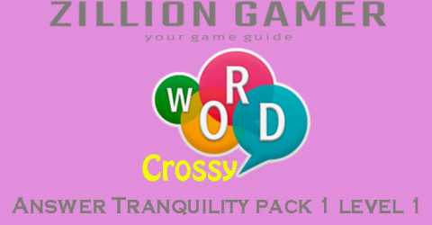 Word crossy level 85