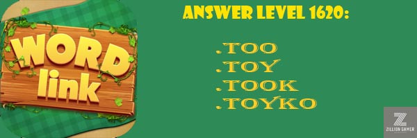 Answer Levels 1620 | Word Link - zilliongamer your game gudie