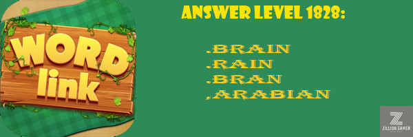 Answer Levels 1828 | Word Link - zilliongamer your game guide