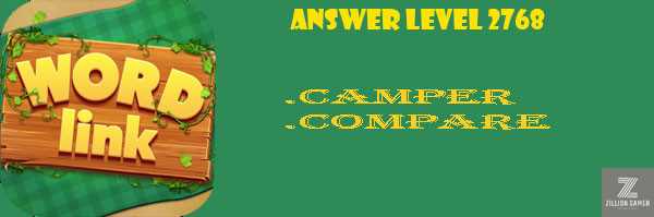 Answer Levels 2768 | Word Link - zilliongamer your game guide