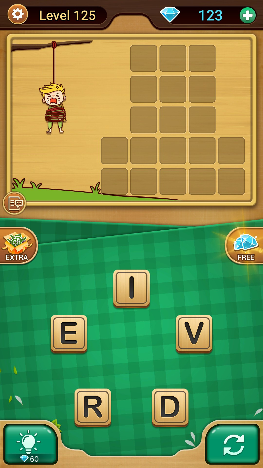 Answer Level 125 Chapter 25 in Word Link - zilliongamer your game guide