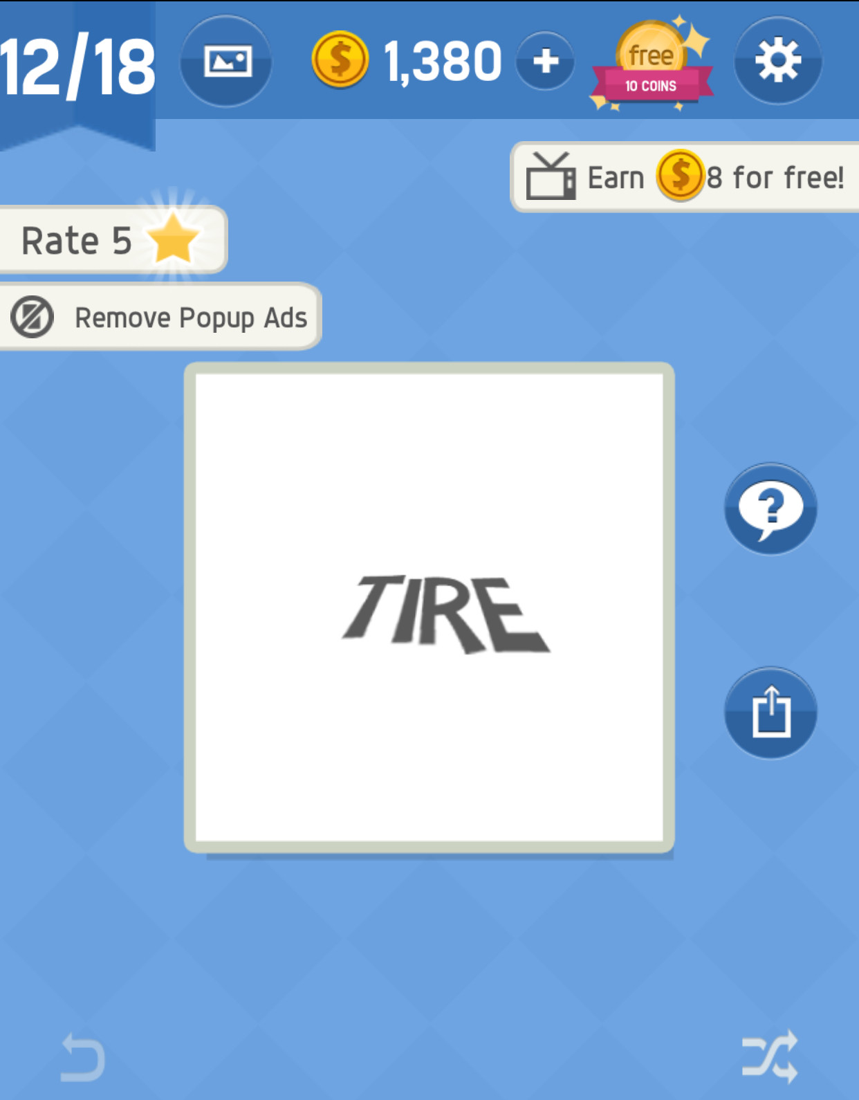 Answer Pack 12 Level 12 in Word tricky - zilliongamer your game guide