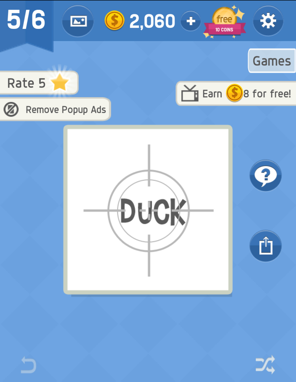 Game Pack 1 Level 5 Answer in Word tricky - zilliongamer your game guide