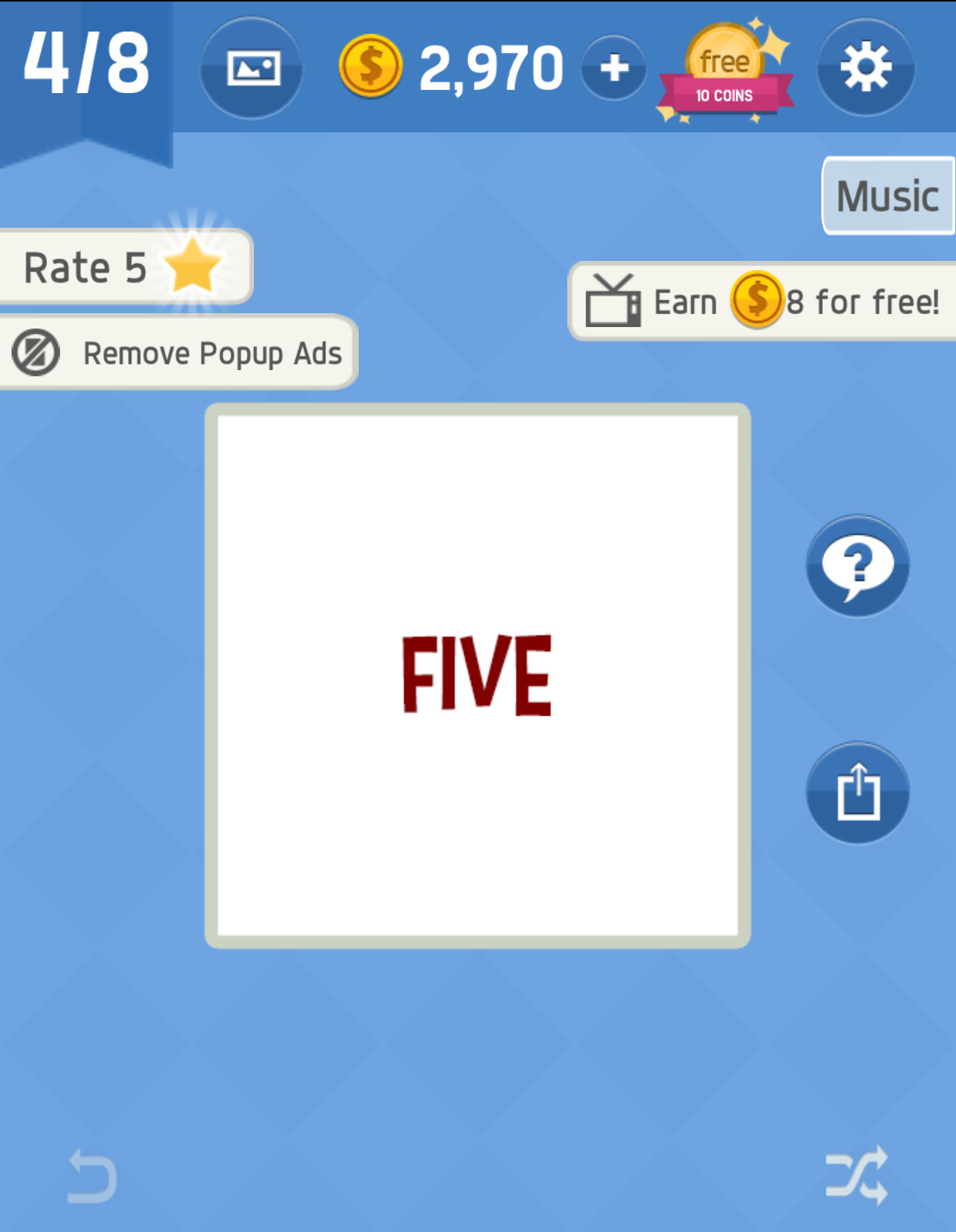 Music Pack 4 Level 4 Answer in Word tricky - zilliongamer your game guide